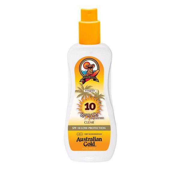 Australian Gold SPF10 spray gel