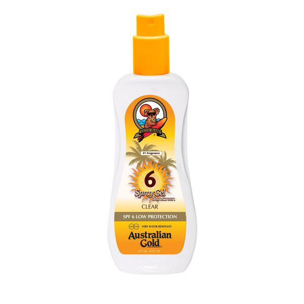 Australian Gold SPF6 spray gel